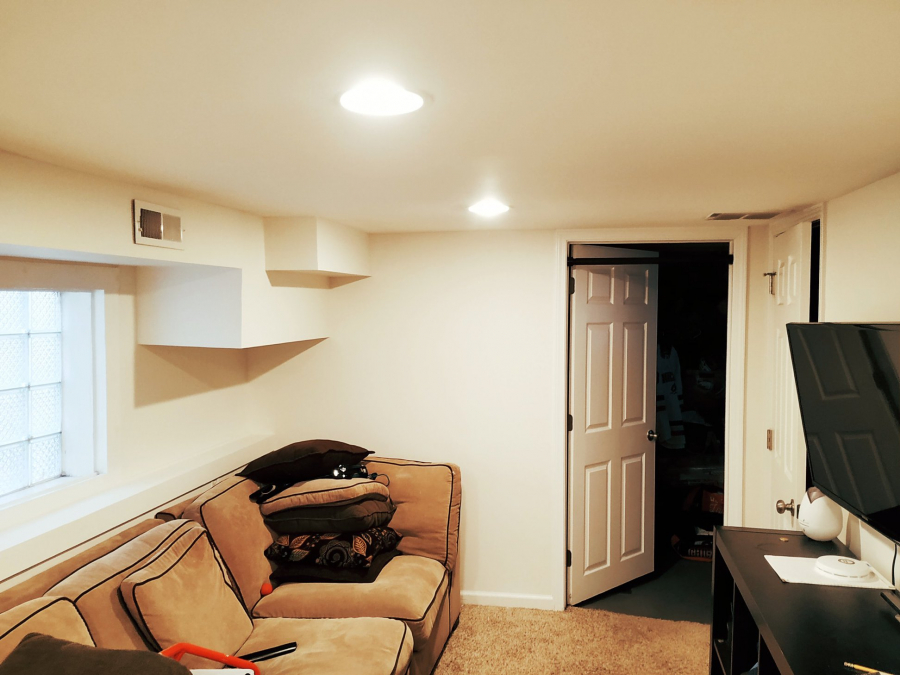 Basement Interior Painting